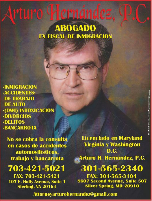 Arturo Hernandez Lawyer Ad
